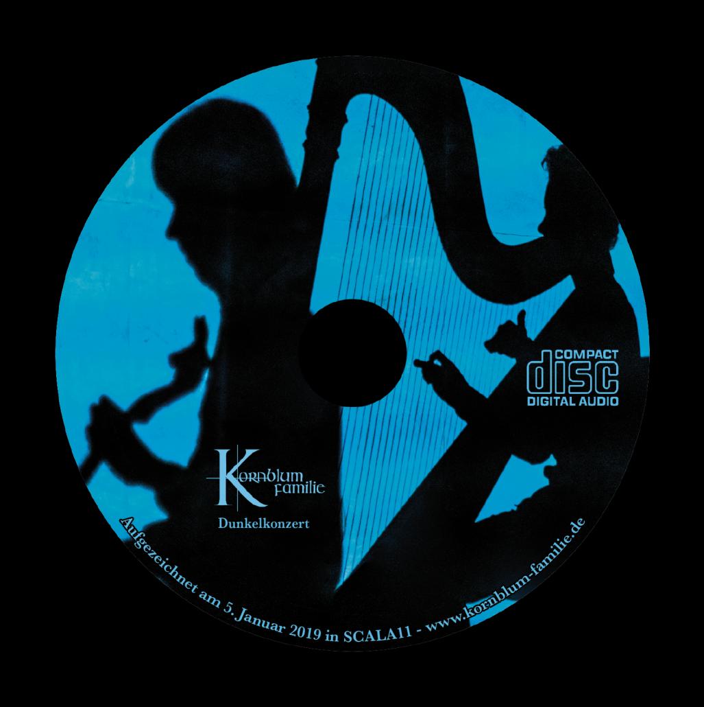 CD vom Dunkelkonzert der Kornblum-Familie