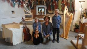 Die Kornblum-Familie in der Georgskirche Taisten/ Südtirol 2016