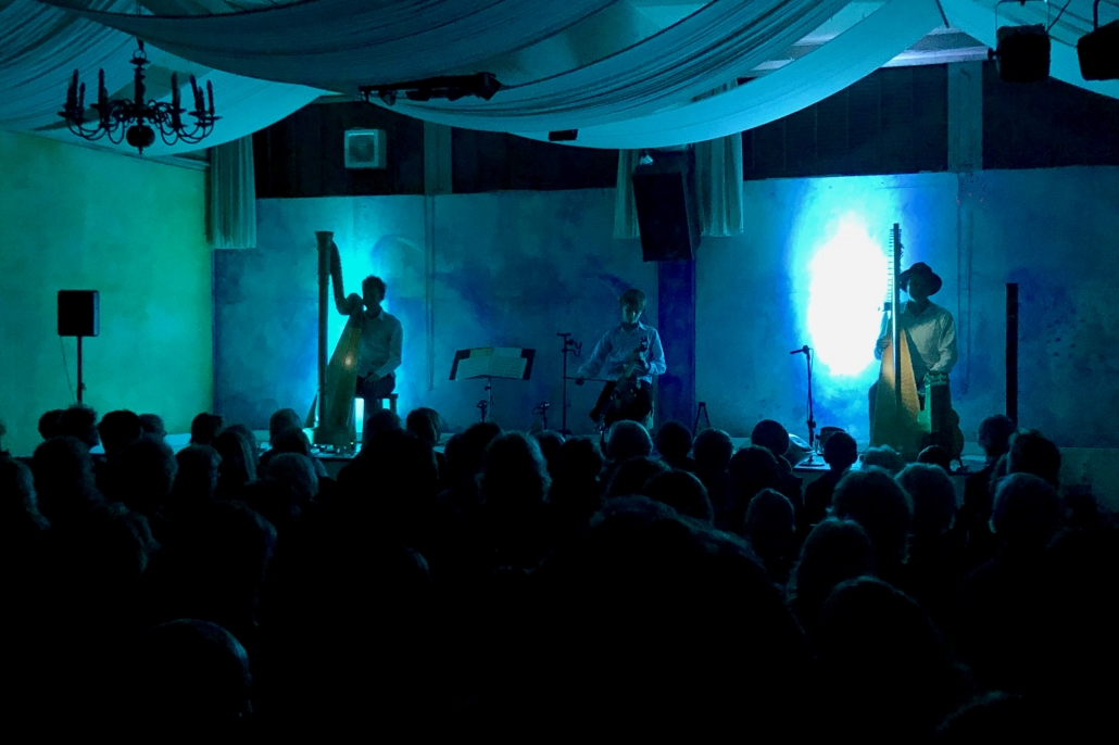 Die Kornblum-Familie beim Konzert in SCALA11