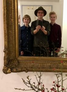 Salon-Konzert der Kornblum-Familie